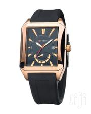 Black Resin Band Luxury Wrist Watch CUR532LUX | Watches for sale in Nairobi, Nairobi Central