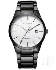 Black Stainless Steel Luxury Wrist Watch With White Dial   Watches for sale in Nairobi, Nairobi Central