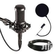 Audio-technica AT2035 Large Diaphragm Studio Condenser Microphone | Audio & Music Equipment for sale in Nairobi, Kahawa West