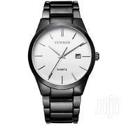 CURREN Black Stainless Steel Luxury Wrist Watch With White Dial CUR 10 | Watches for sale in Nairobi, Nairobi Central