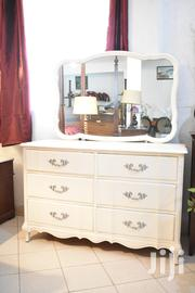 White Dresser With Mirror | Home Accessories for sale in Nakuru, Mai Mahiu