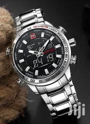 Men's Sports Stainless Steel Band LED Wrist Watch 9093   Watches for sale in Nairobi, Nairobi Central