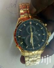 Gold And Black Edifice Casio Watch | Watches for sale in Nairobi, Nairobi Central