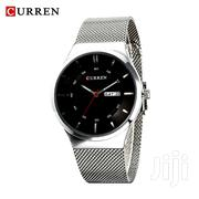 Curren Silver Stainless Steel Watches With Date and Day Display.   Watches for sale in Nairobi, Nairobi Central