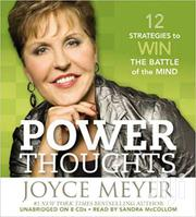 Power Thoughts-joyce Meyer | Books & Games for sale in Nairobi, Nairobi Central